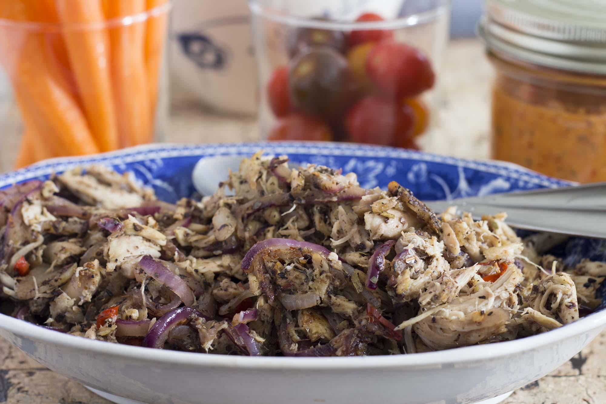 Kylling med ras-el-hanout