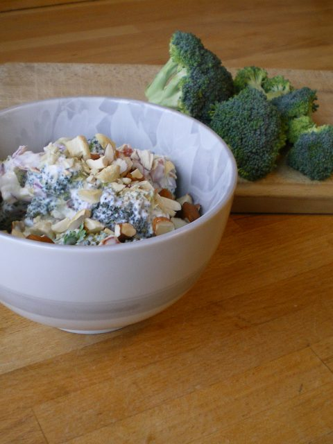 MUFA-venlig broocolisalat