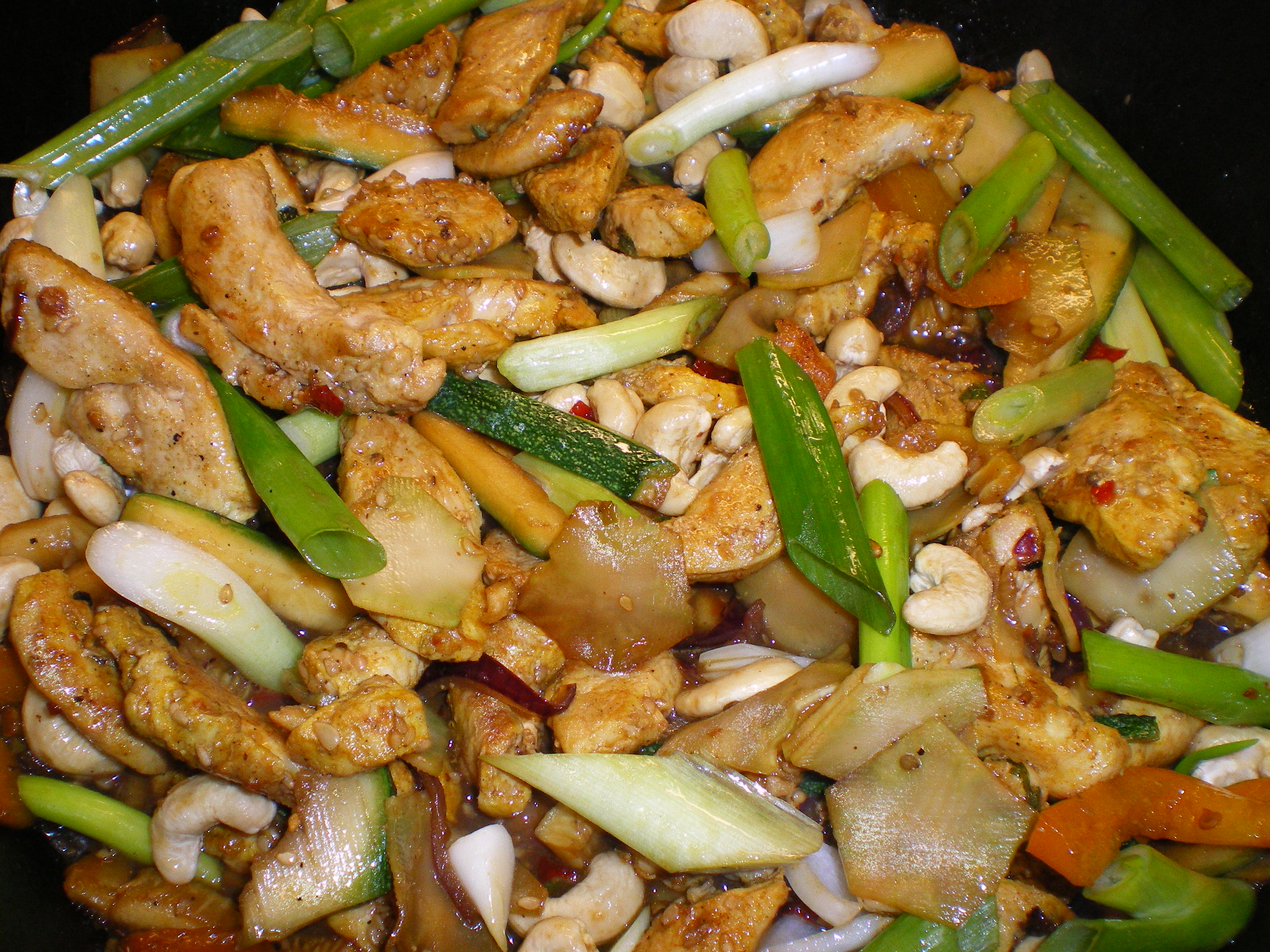 Chicken cashew