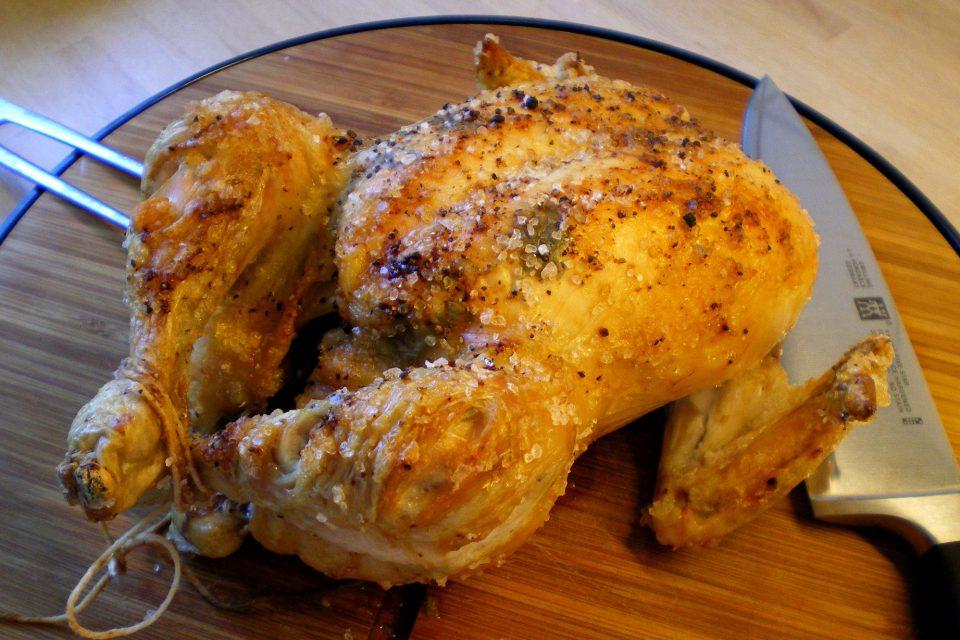 Lidt om at stege en god kylling