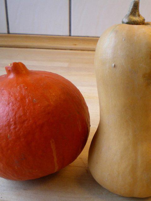 Græskarsuppe med 2 slags græskar, chili og ingefær