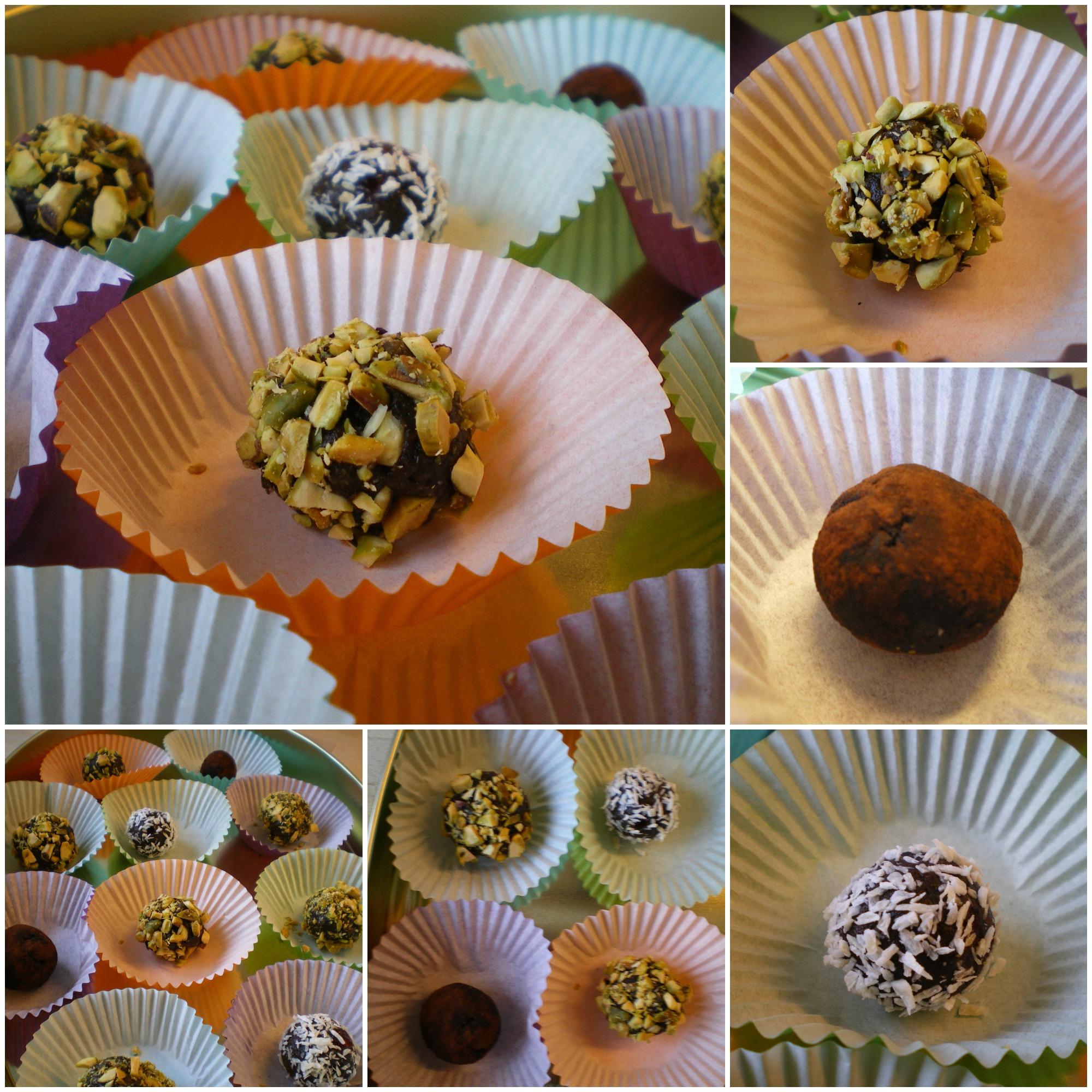 Sveskedelights - sund konfekt med tørret frugt og nødder