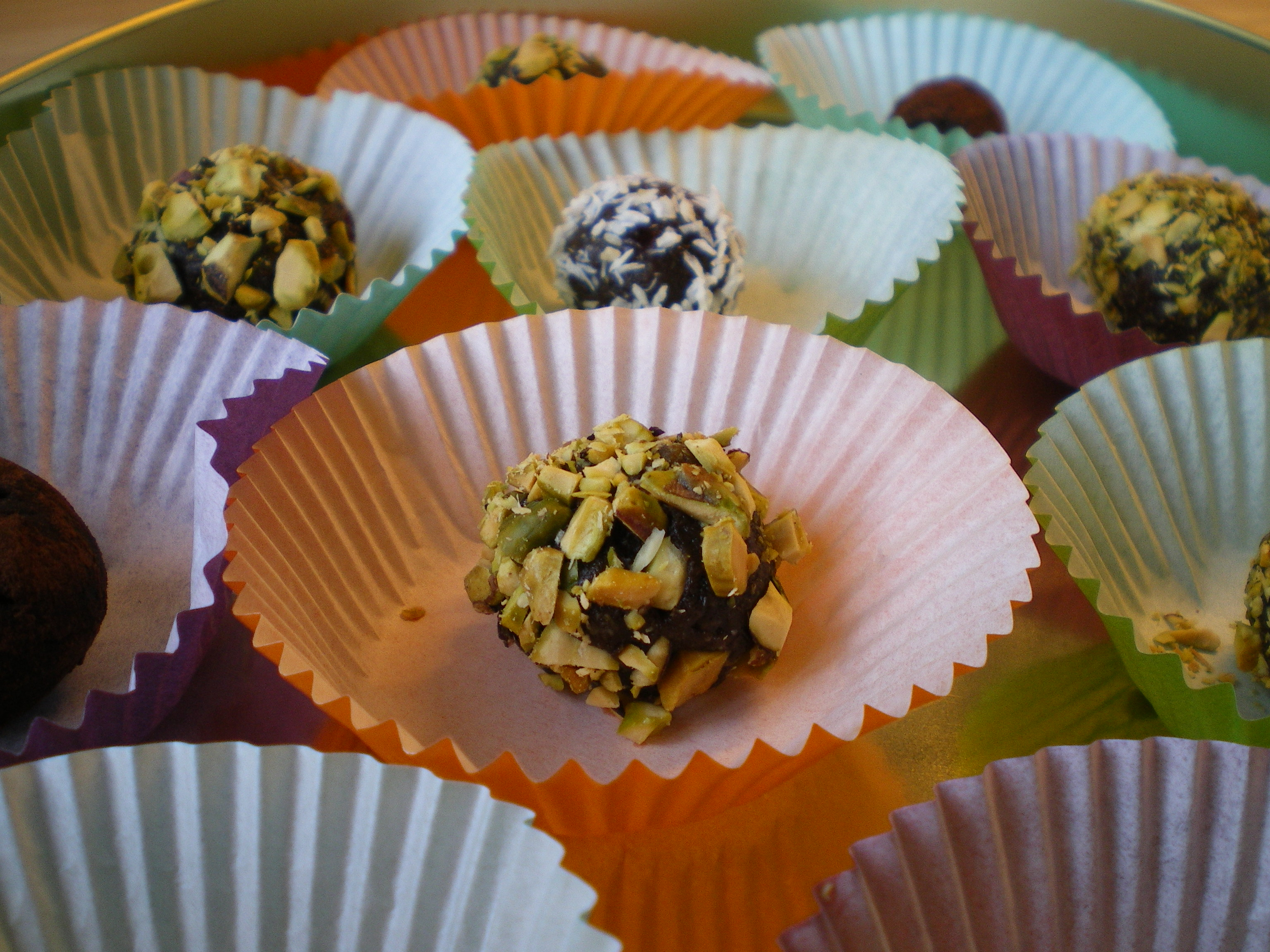 Sveskedelights - sund konfekt med nødder og  tørret frugt