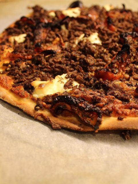 Hjemmelavet pizza