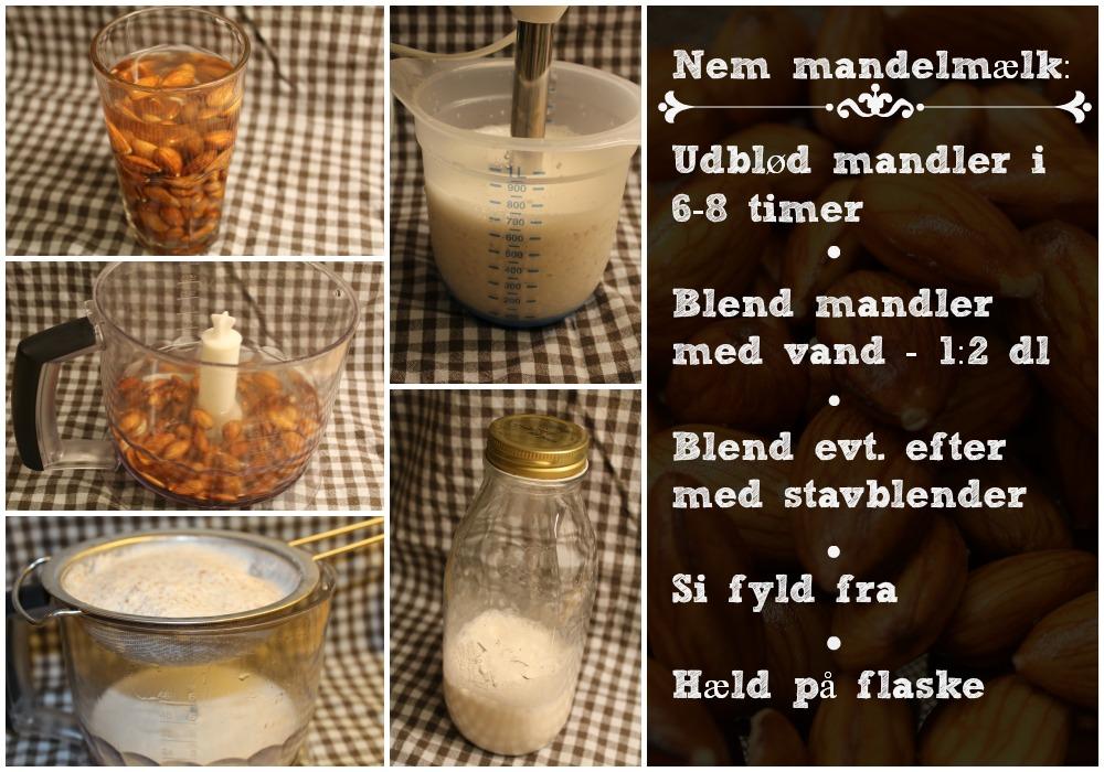 Nem opskrift på mandelmælk