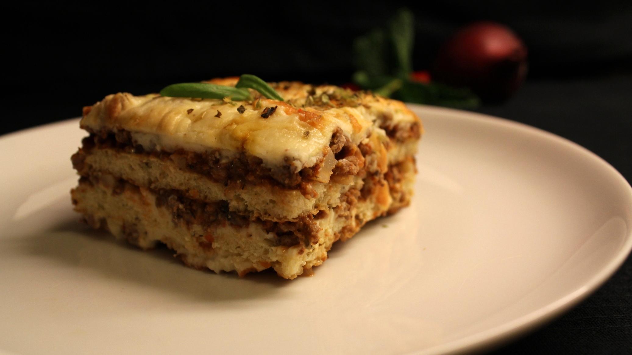 LCHF-lasagne