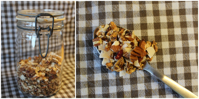 Low-carb chokomüesli med kakaonibs