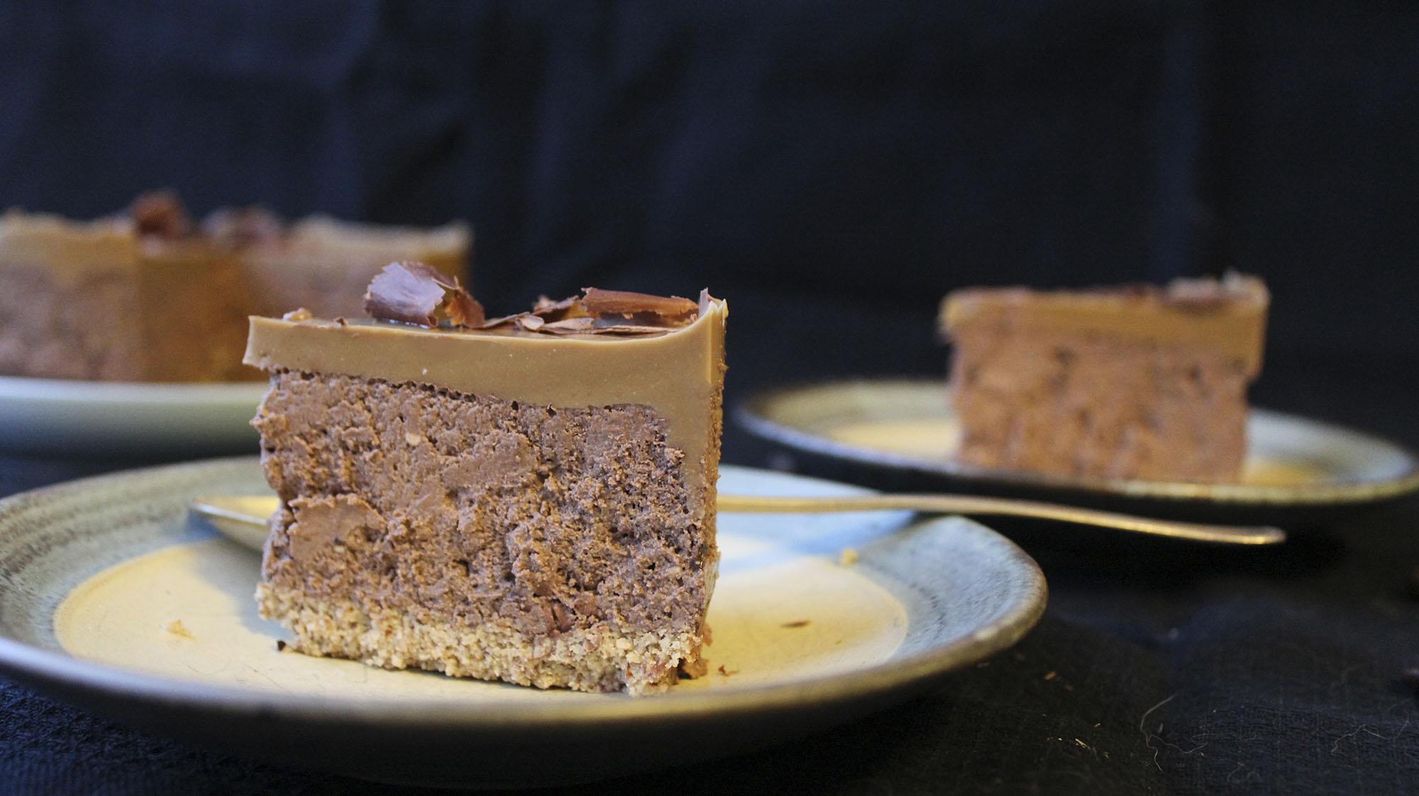 Chokolade-kaffe cheesecake (LCHF)