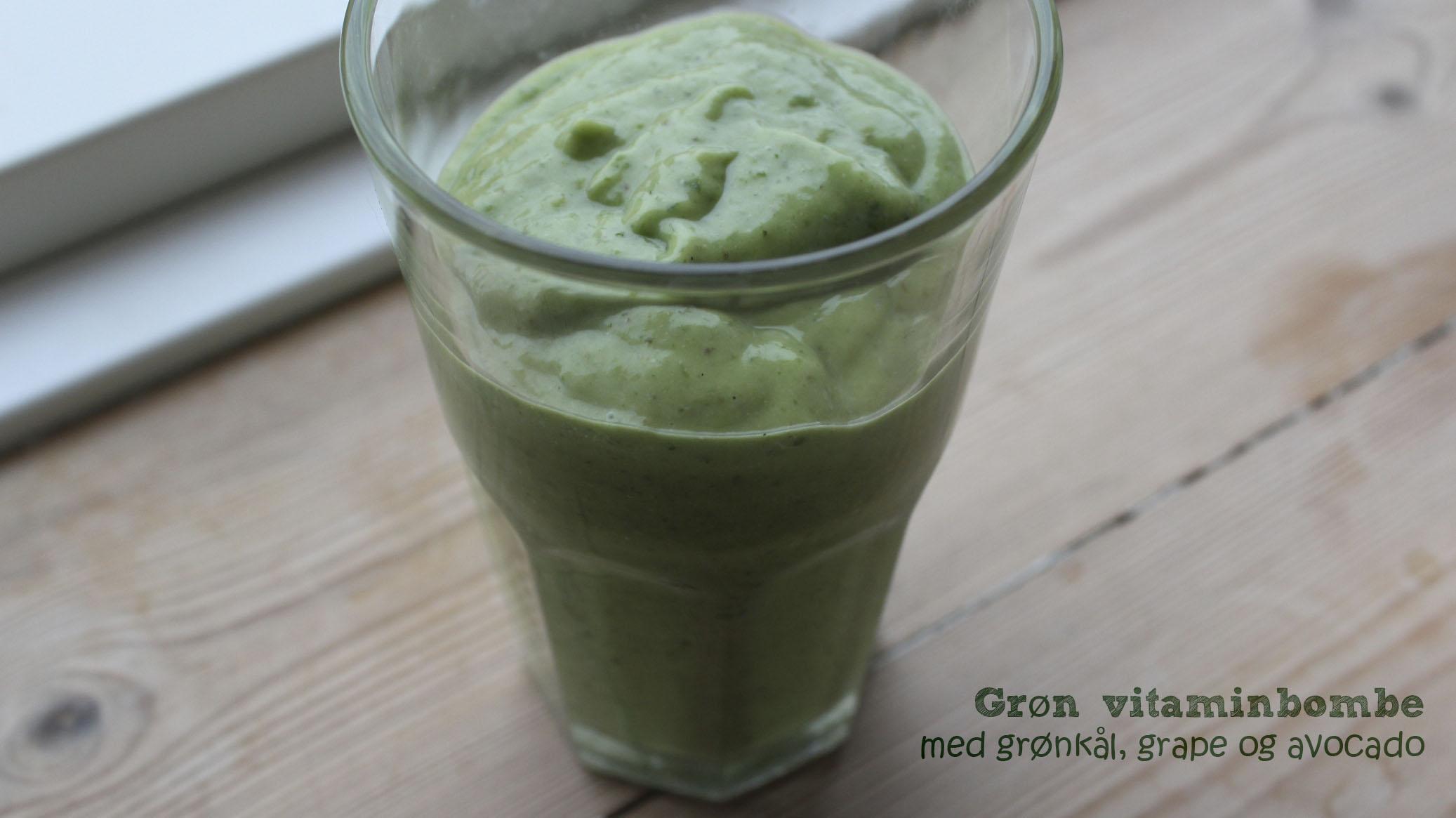 Grøn vitaminbombe
