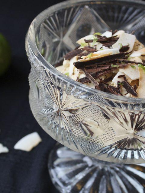 Kokosis med lime og havtorn