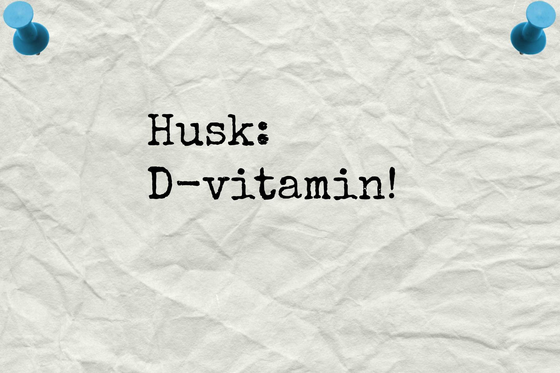 hvor meget d vitamin kan man tåle