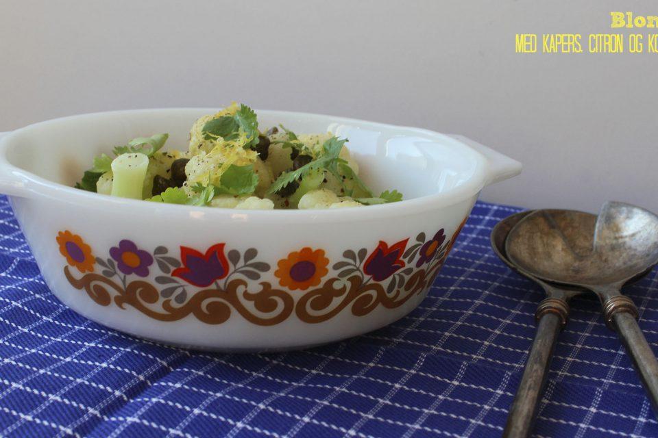 Blomkål med smør kapers, citron og koriander