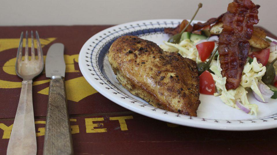 Club sandwich salat