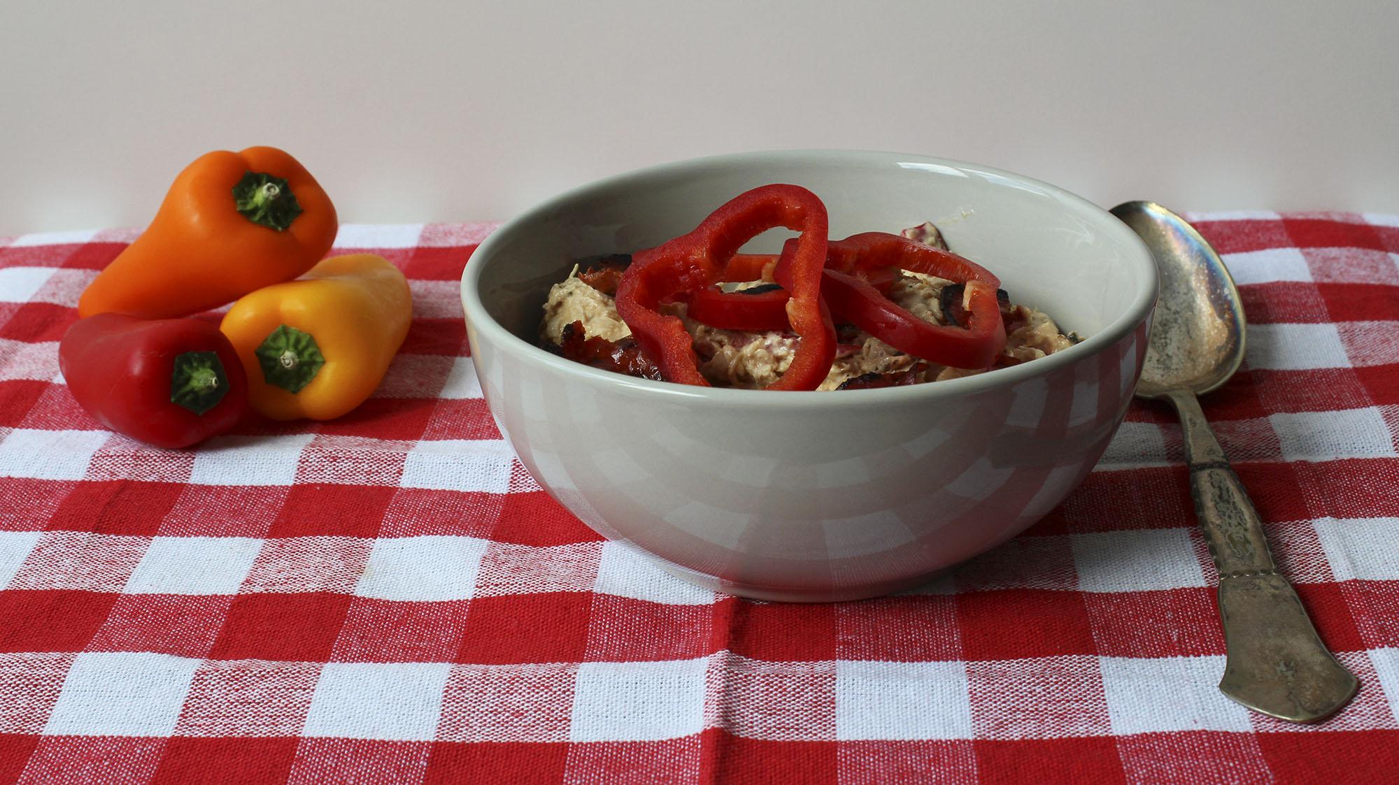 Spicy hønsesalat