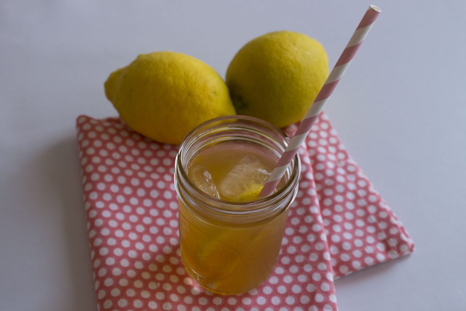 Sukkerfri iste med mynte og citron