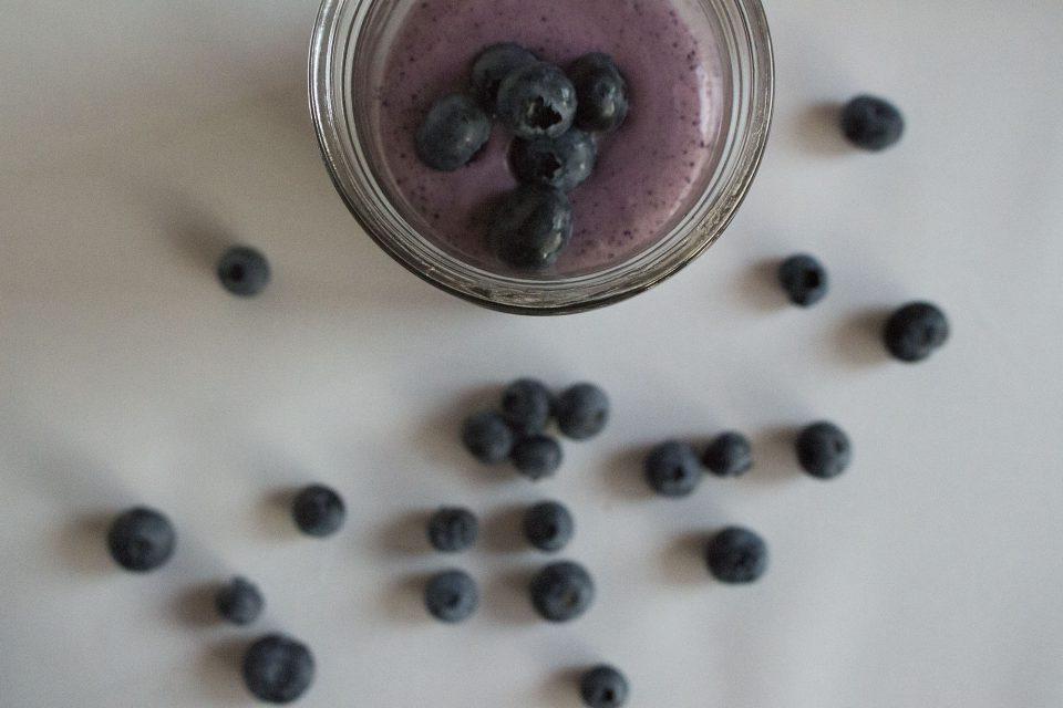 Blåbærsmoothie (mejerifri)