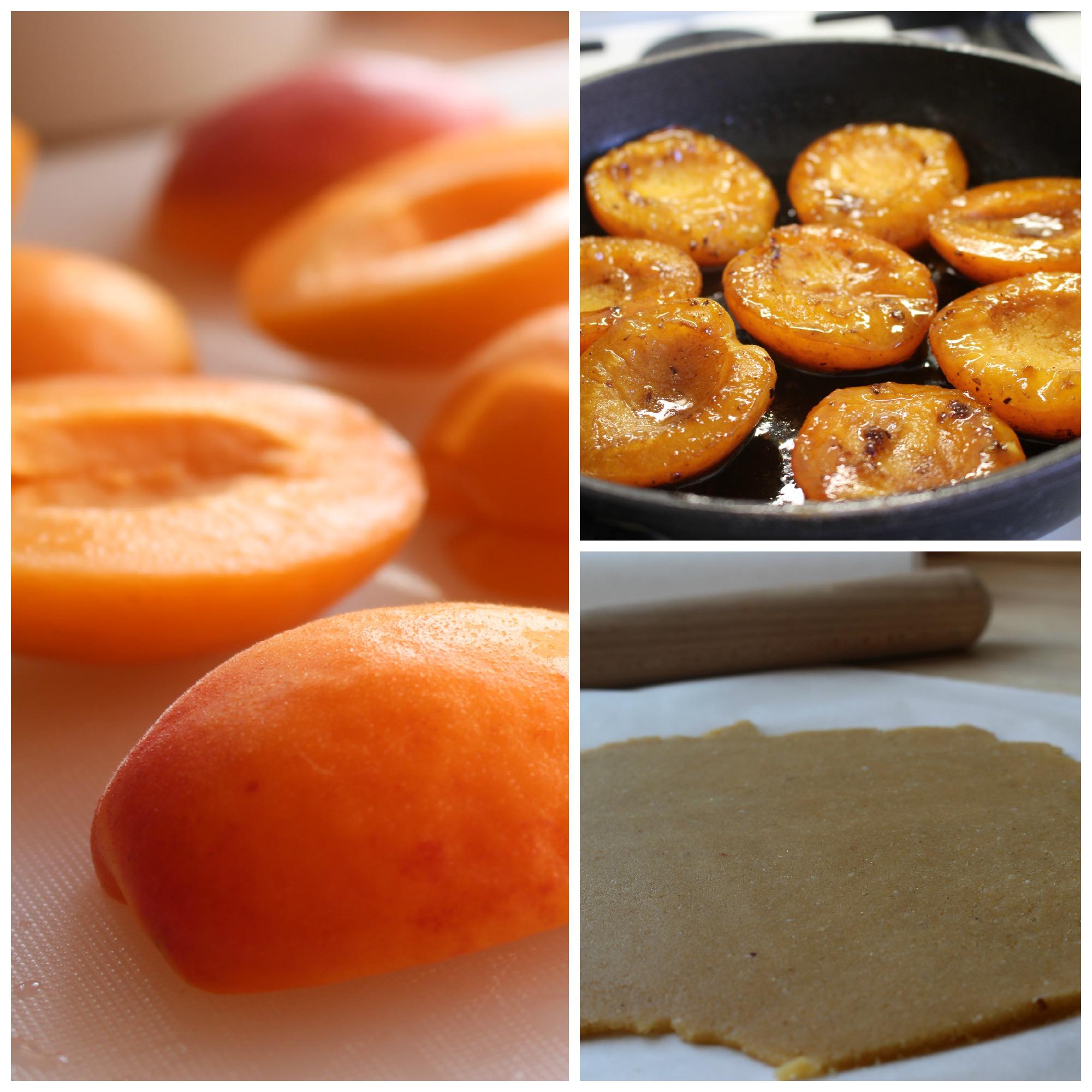 Tarte tatin med abrikos (lchf)