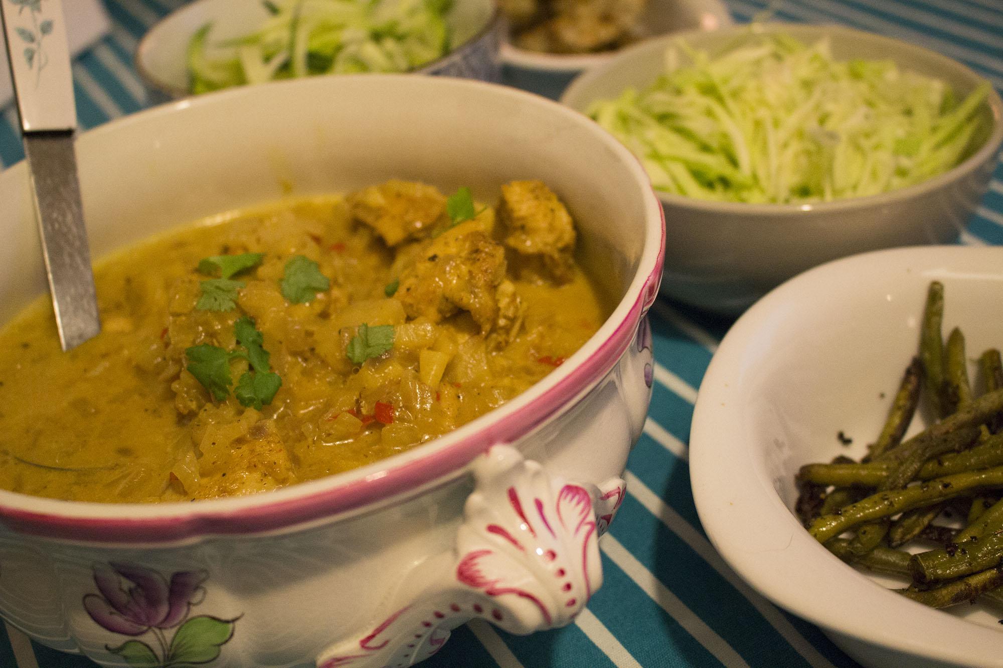 Kylling i sambhar