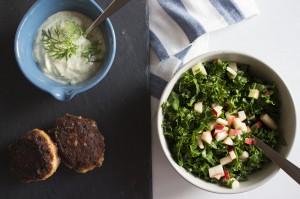 Madbloggerudfordringen 4: nordiske fishcakes med jordskokker