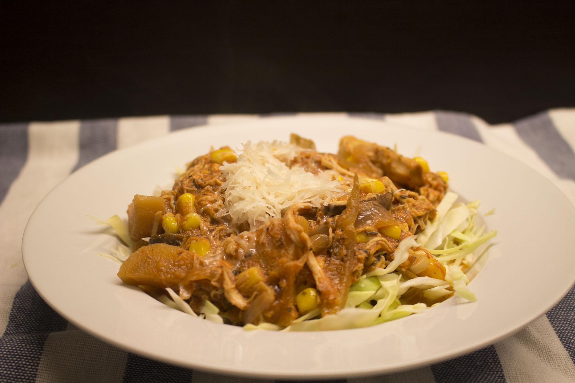 Italiensk kylling i crockpot
