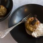 Bagte æbler med lakrids og vanilje