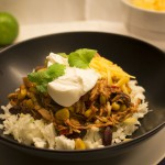 Chili con pollo i crockpot