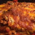 Johns lchf lasagne med 3 slags ost