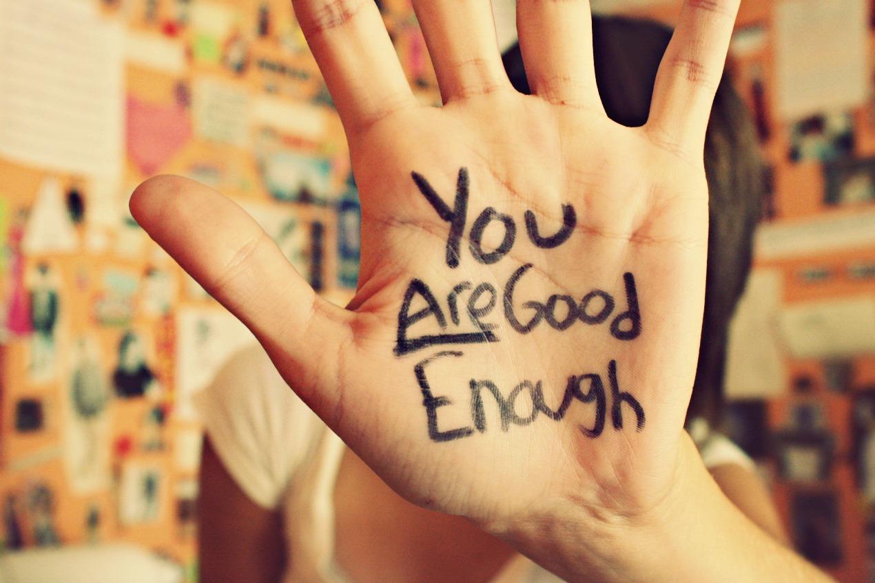 At være god nok