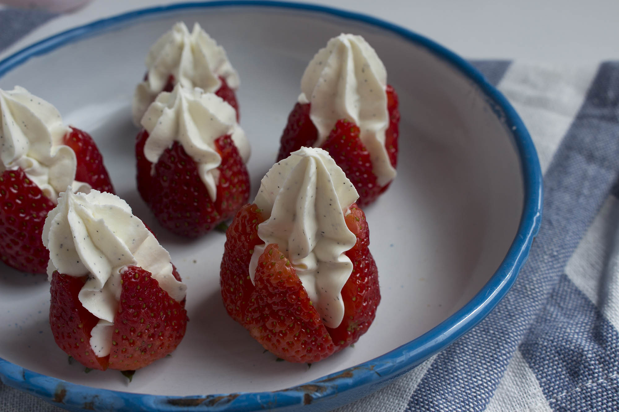 Jordbær med mascarpone