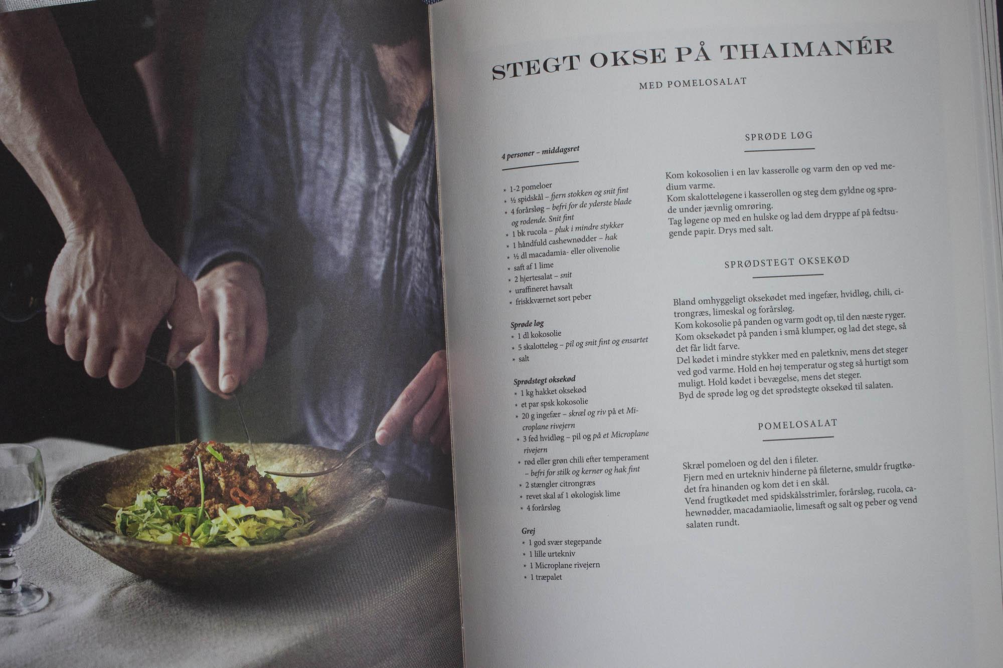 Oksekød på thai-manér