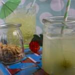 Drink med stikkelsbær og gin