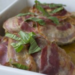 Kylling med pesto og pancetta