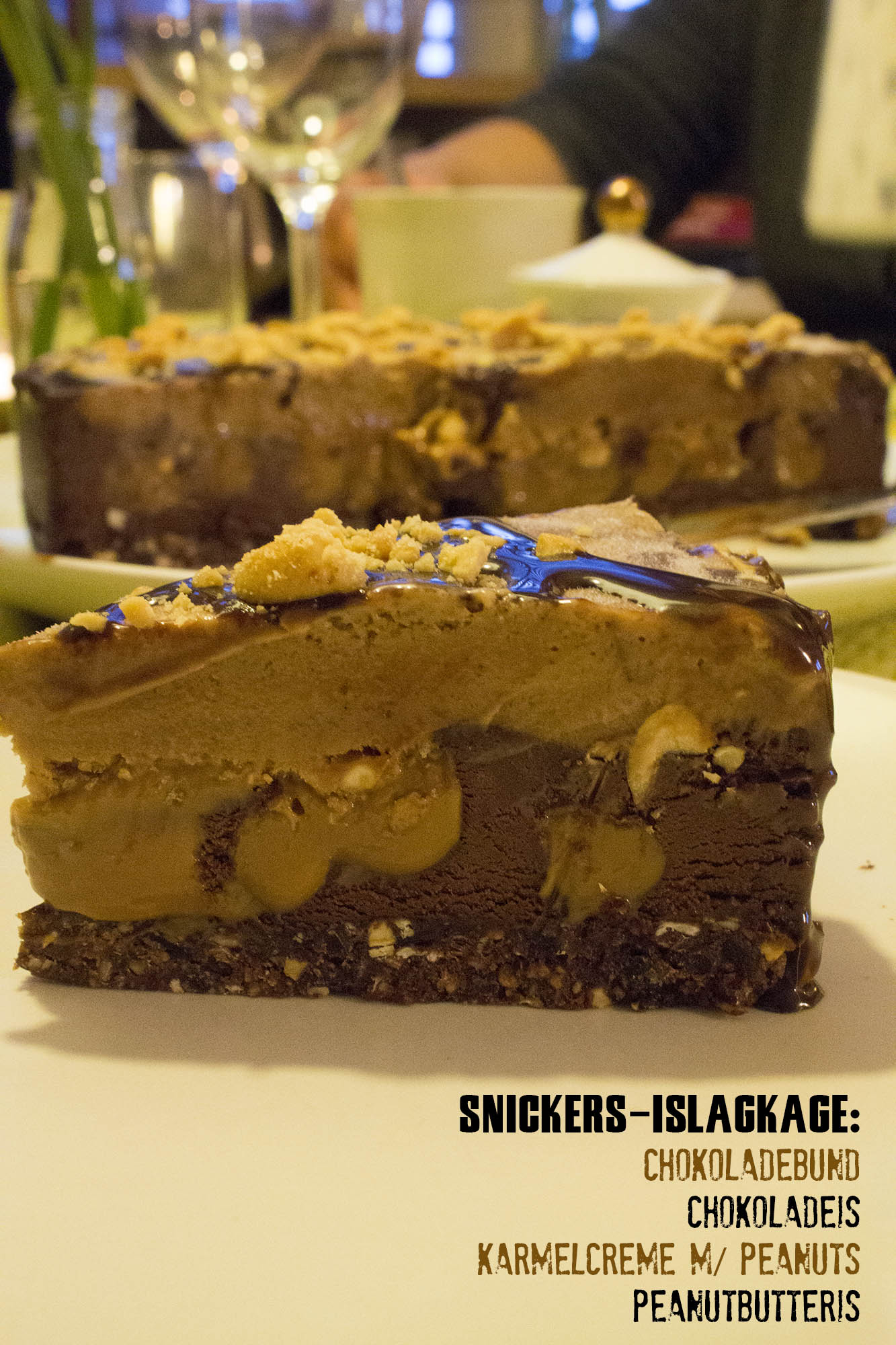 Snickers-islagkage