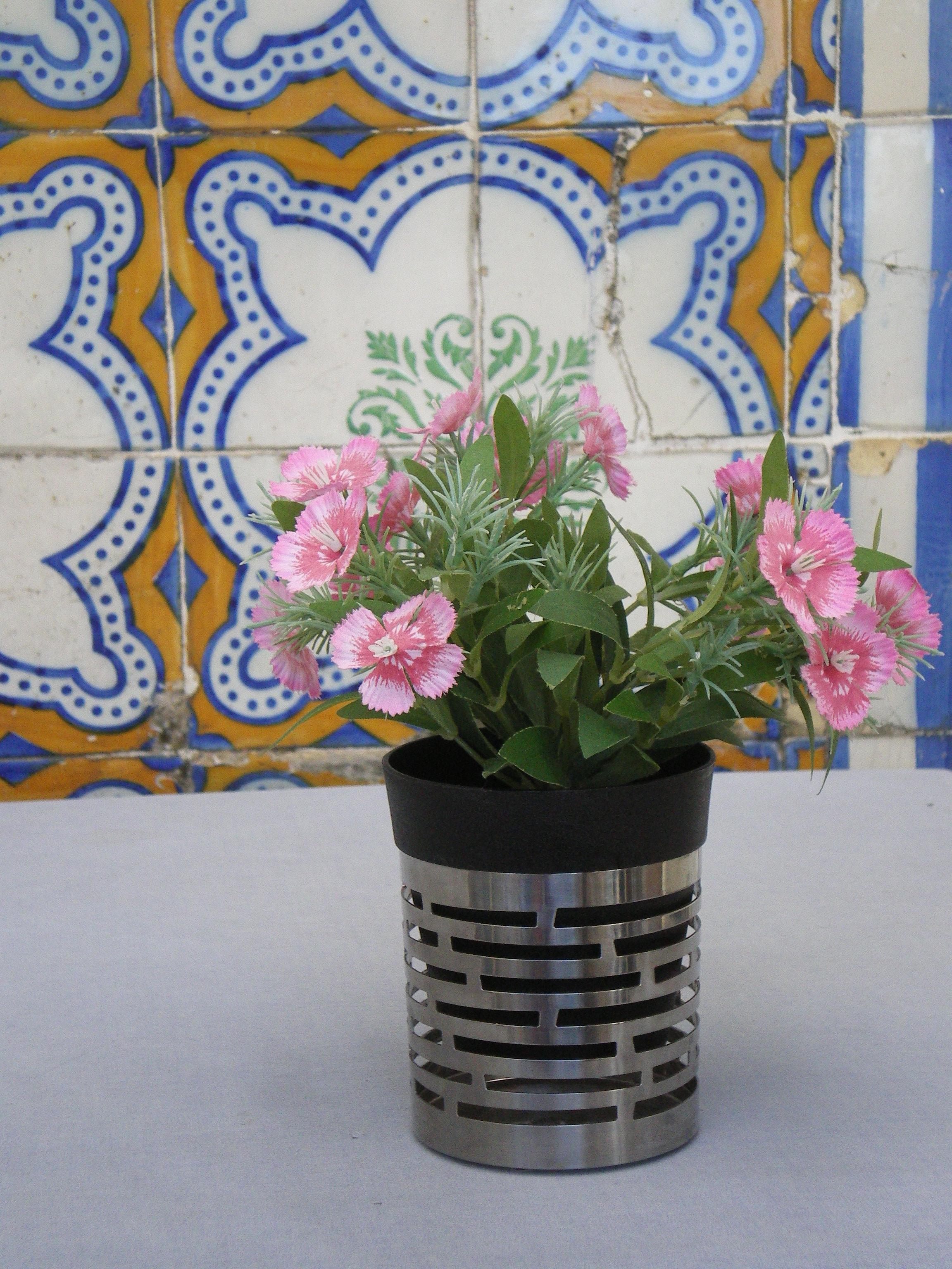 Kakler og blomst