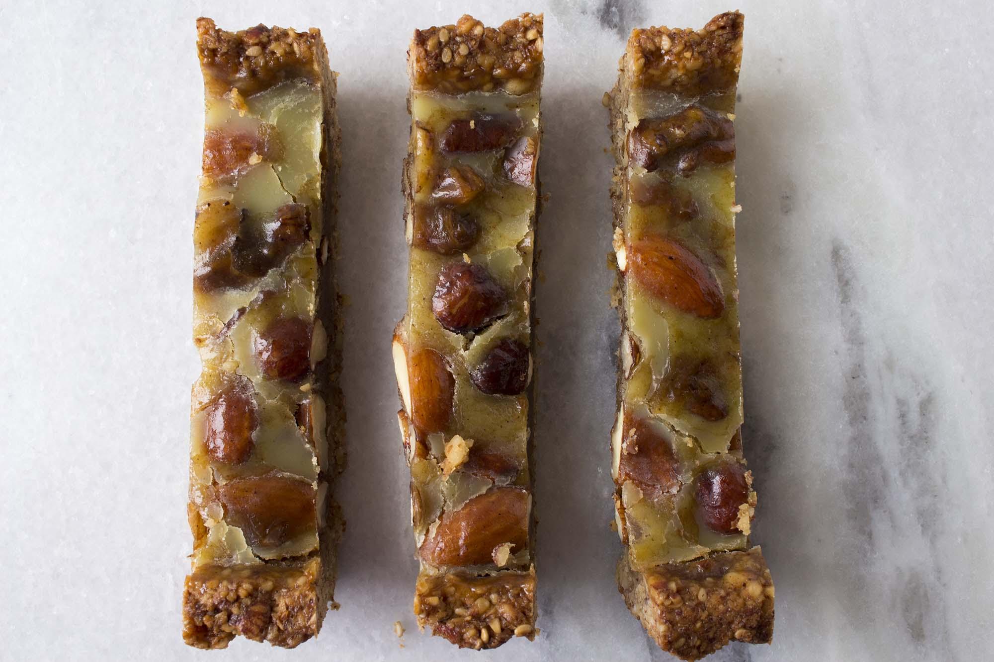 Lchf-venlig nøddetærte med karamel