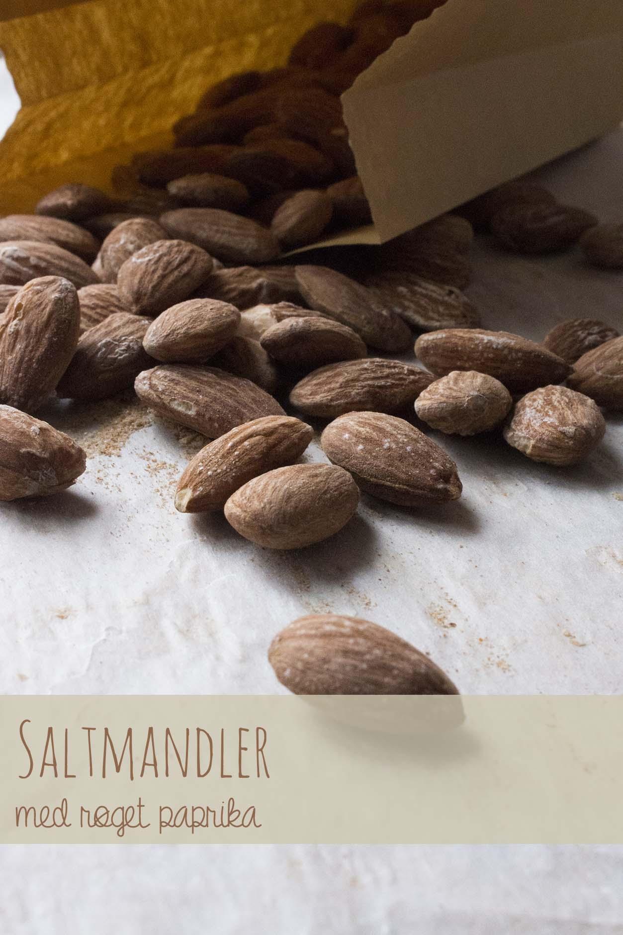 Saltmandler med røget paprika