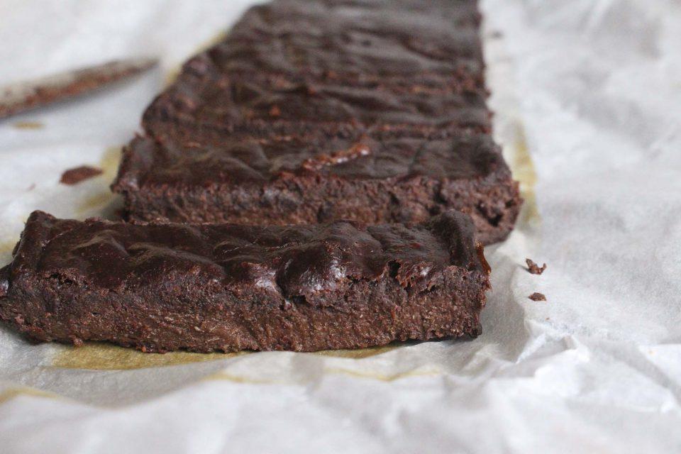 Nem brownie med 3 ingredienser