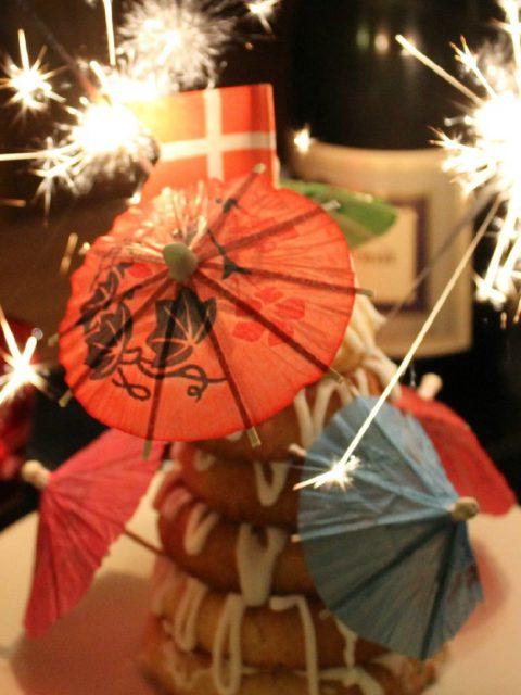 Nytår_Kransekage