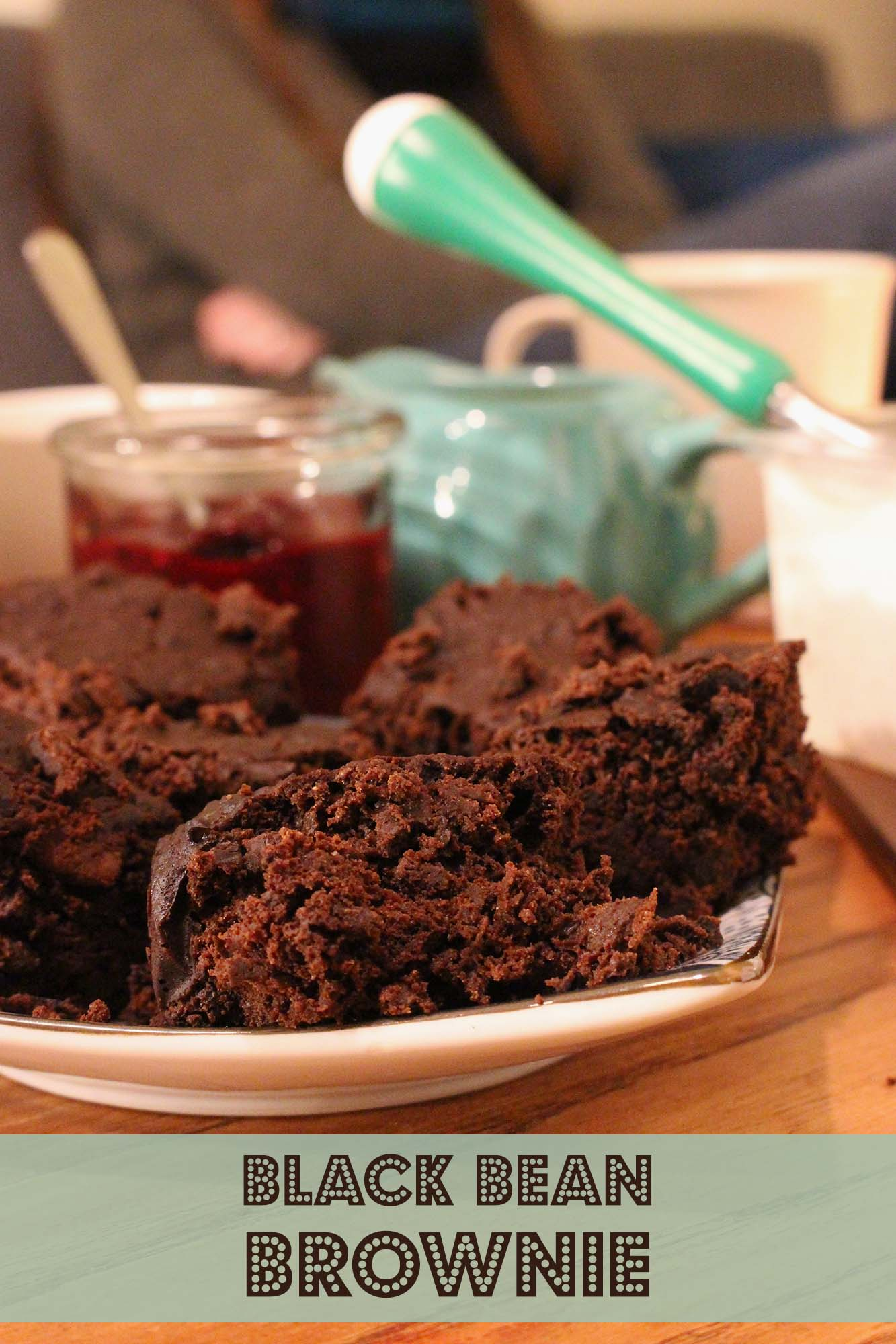 Black bean brownie i crockpot