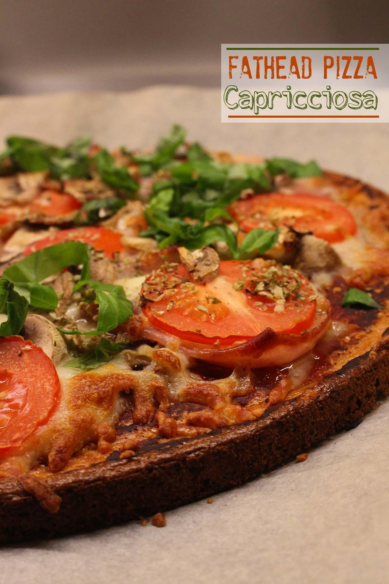 Fathead pizza capricciosa