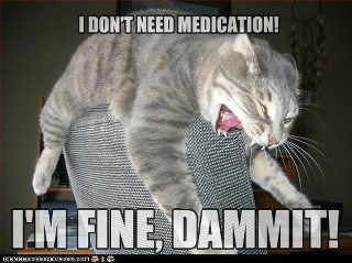 Don't need medication