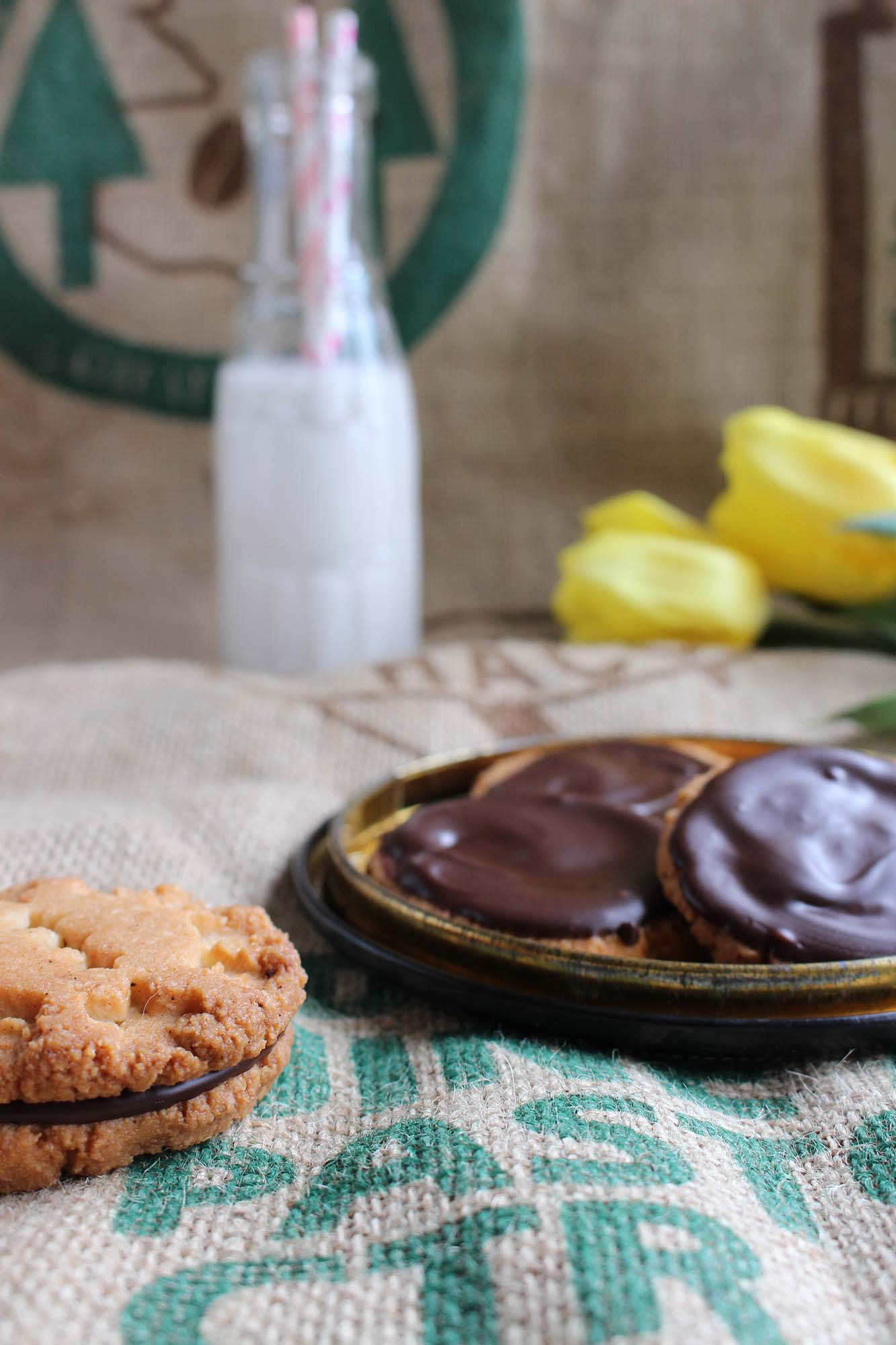 Hjemmelavede chokoladekiks