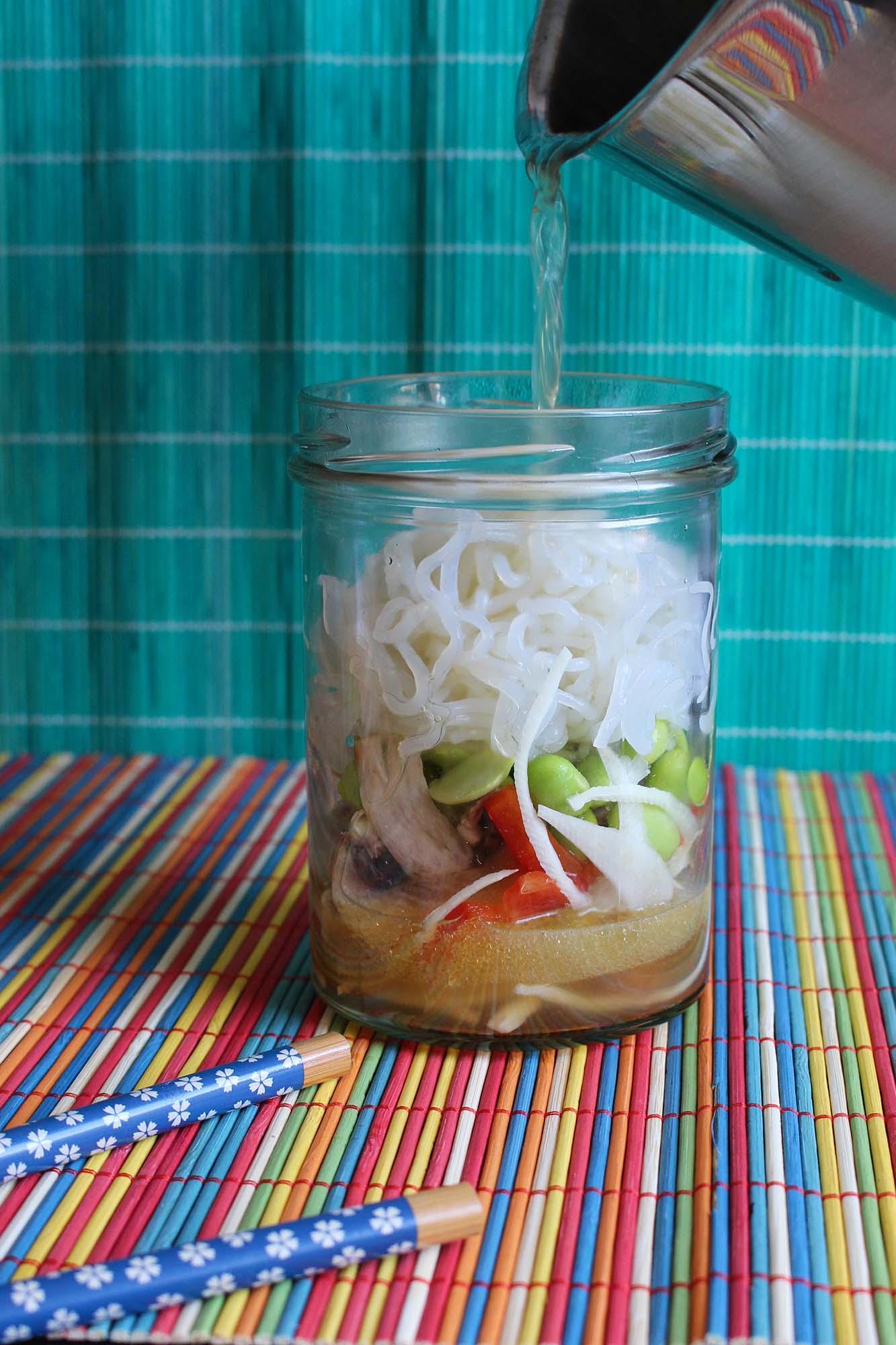 Hjemmelavede cup noodles
