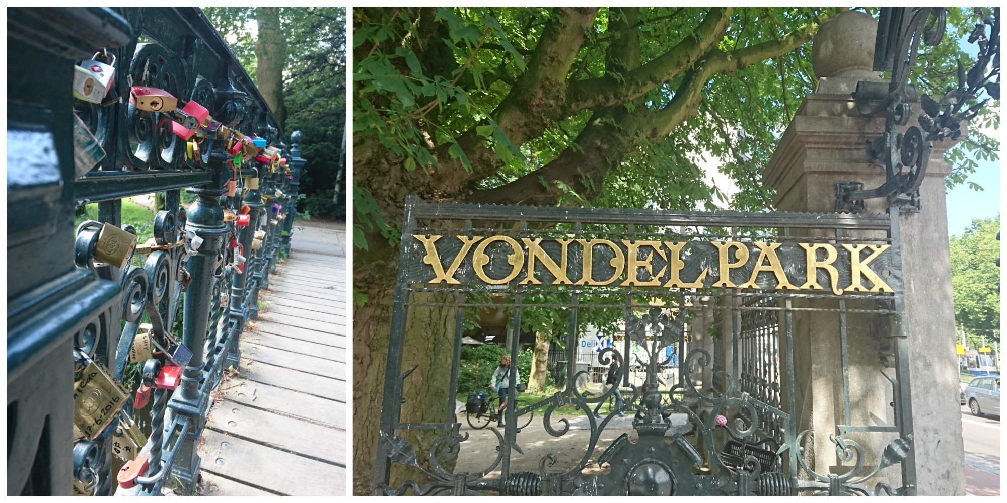 Amsterdam_Vondel Park_Collage