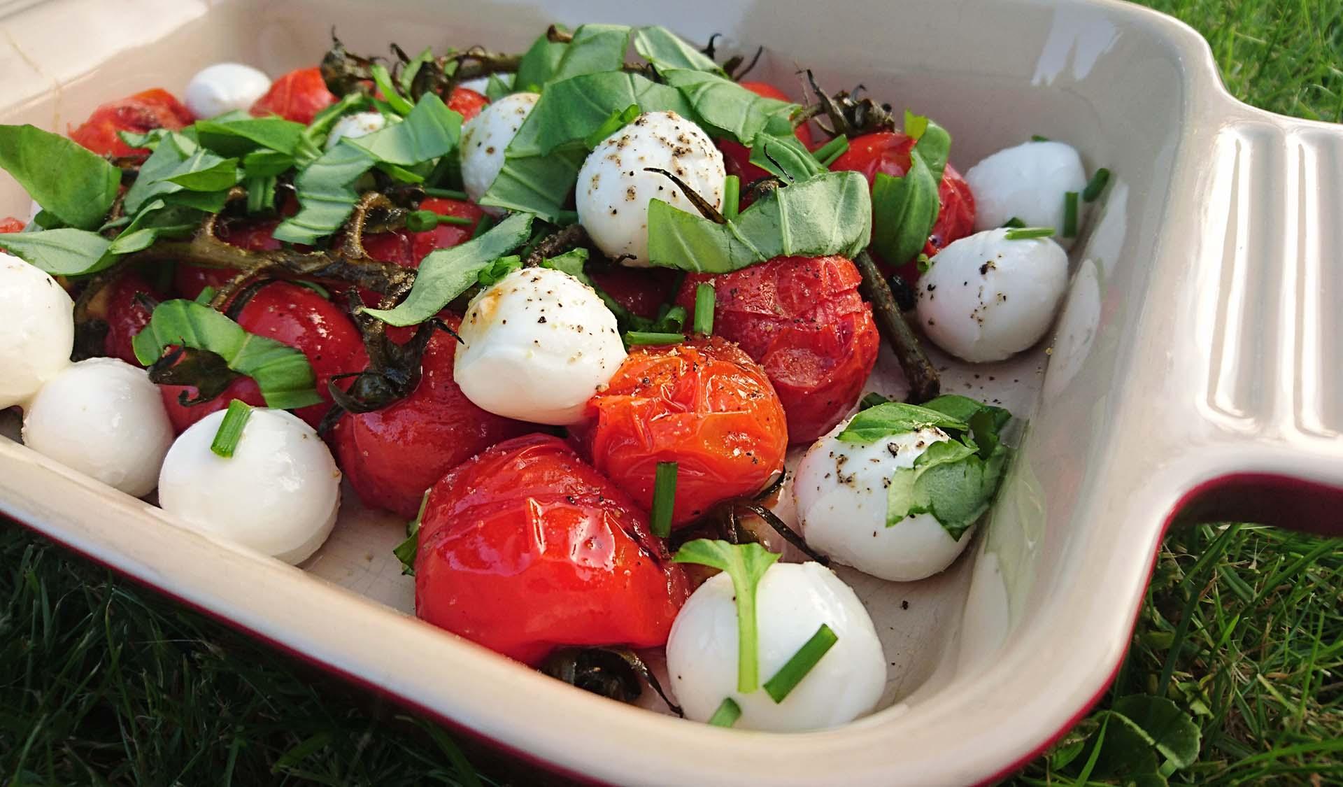 Grillet tomatsalat