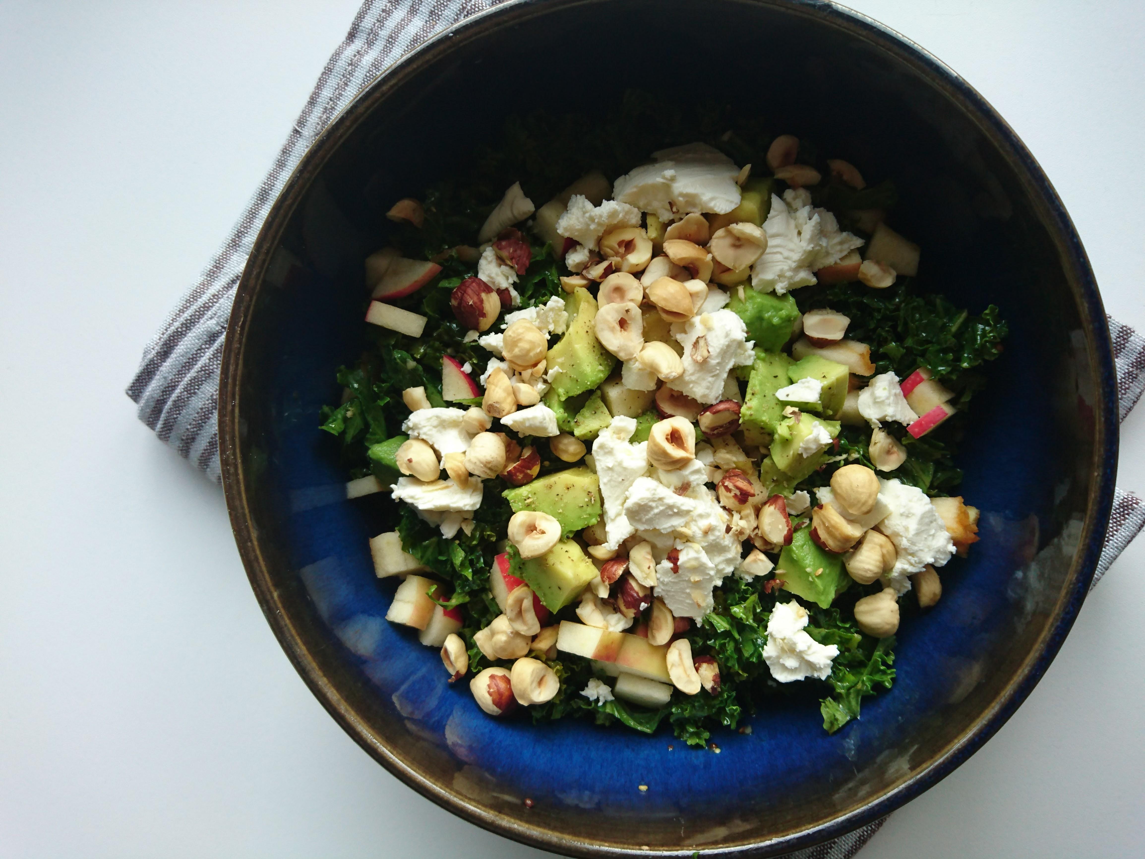 nem aftensmad - grønkålssalat