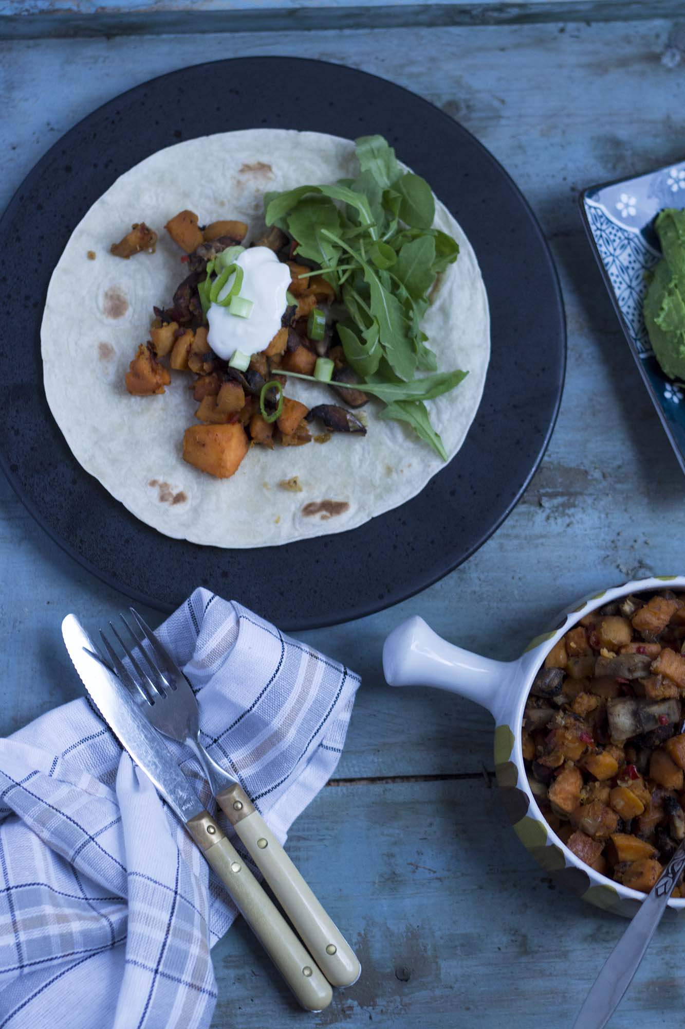 Vegetarisk tacofyld