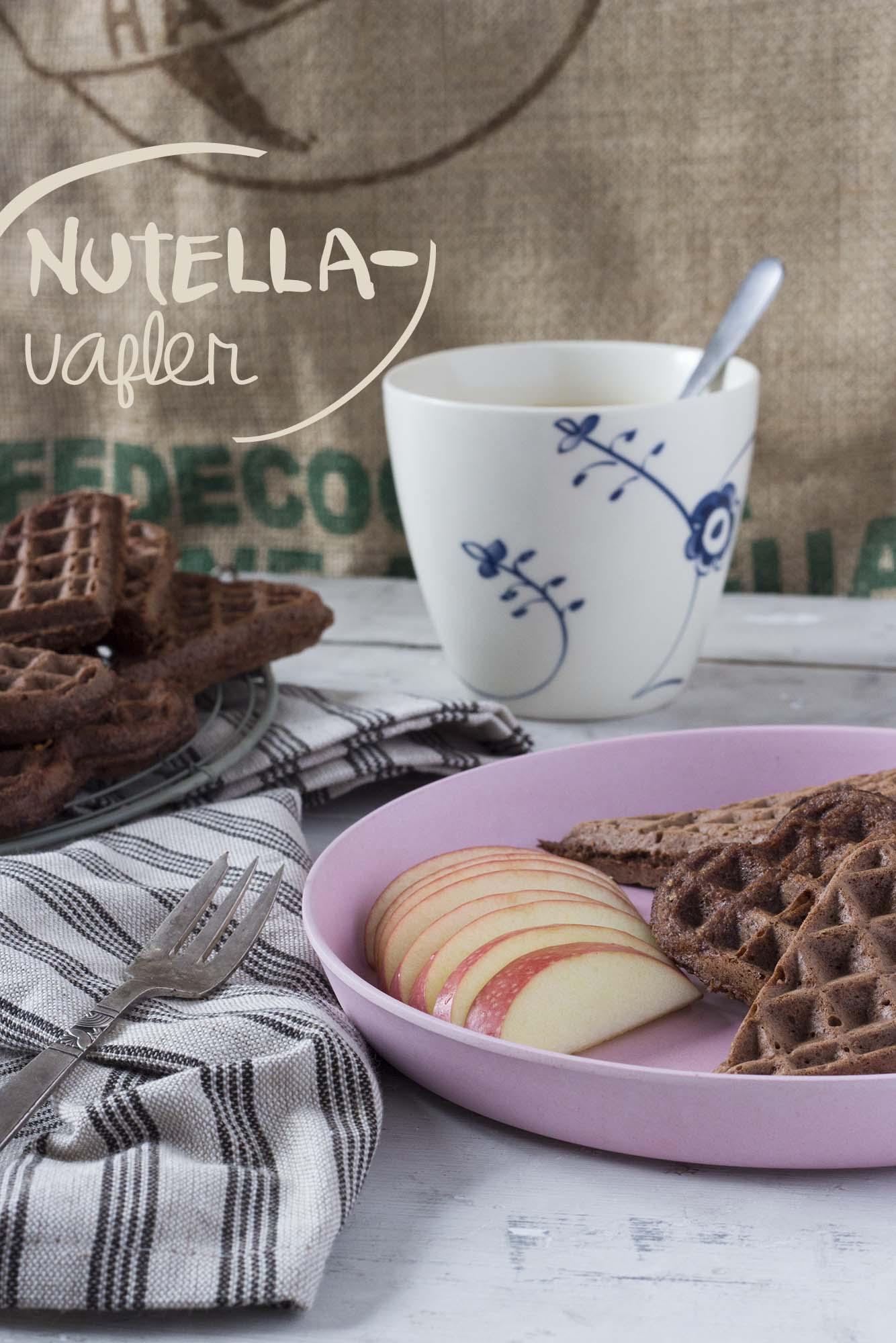 Nutella-vafler