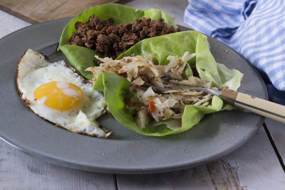 Nem morgenmad: råstegt blomkål