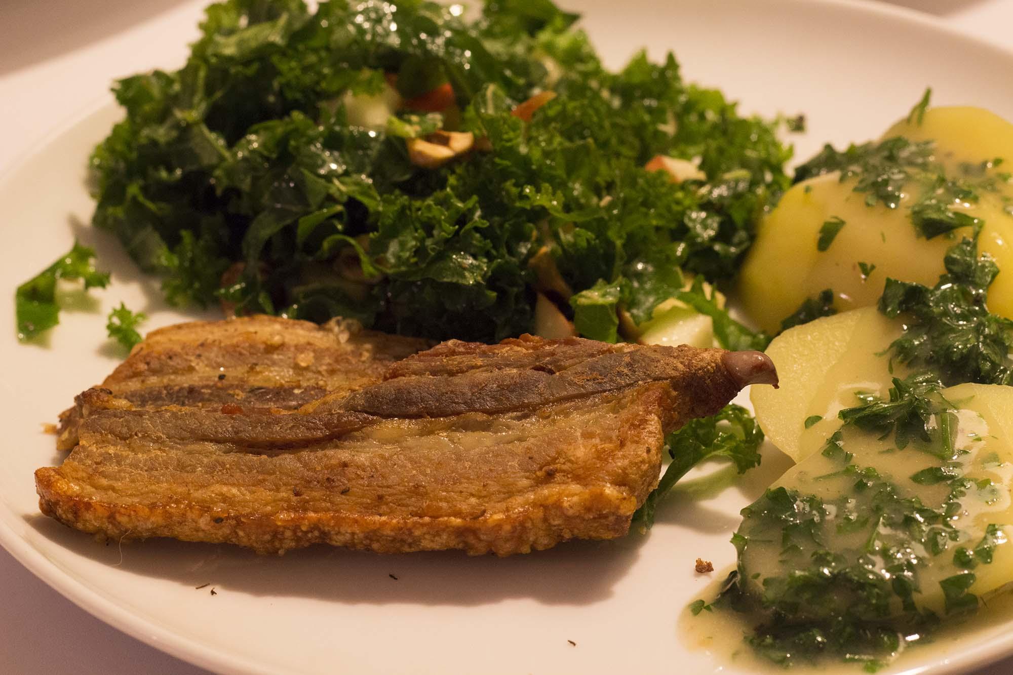 Stegt Flæsk Med Persillesovs Fru Kofoeds Køkken